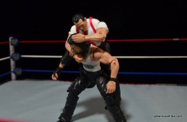 WWE IRS Mattel Elite figure review -sleeper hold to Diesel