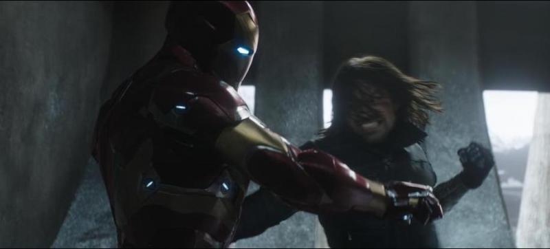 Captain America Civil War pictures - Bucky vs Iron Man