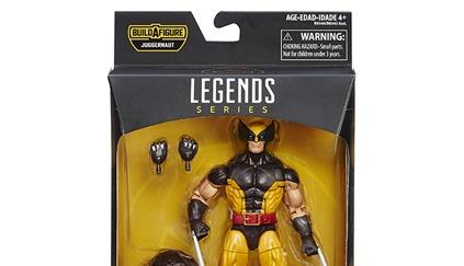 Wolverine in package BAF Juggernaut wave
