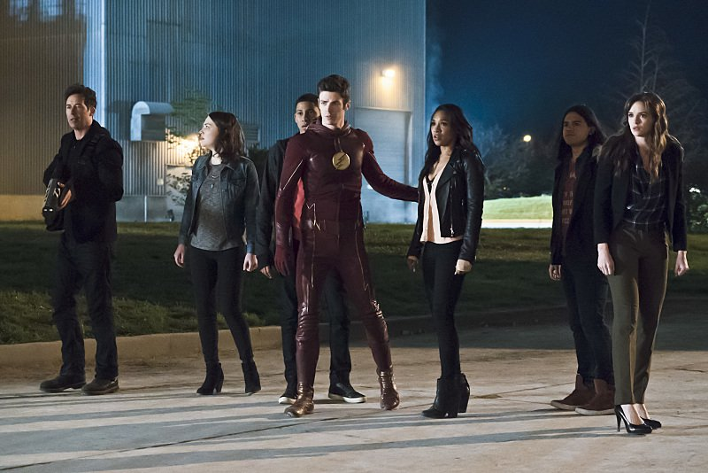 the flash the race of his life - team flash