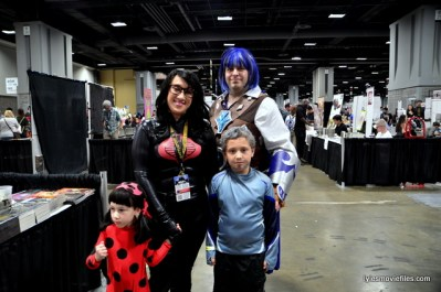 Awesome Con 2016 cosplay - Baroness and cosplay family