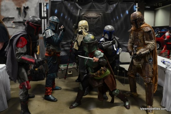 Awesome Con cosplay Day 2 -Mandalorians