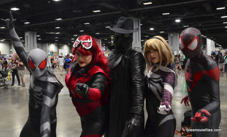 Awesome Con cosplay Day 2 -Spidey-Verse