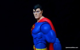 DC Icons Superman figure review -to the side