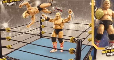 Mattel NWA Dusty Rhodes figure revealed