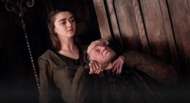 Game of Thrones The Winds of Winter - Arya Stark kills Walder Frey