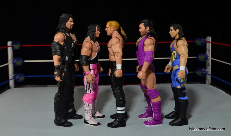 Hunter Hearst Helmsley WWE Network Spotlight figure -scale with Diesel, Bret Hart, Razor Ramon and 123 Kid