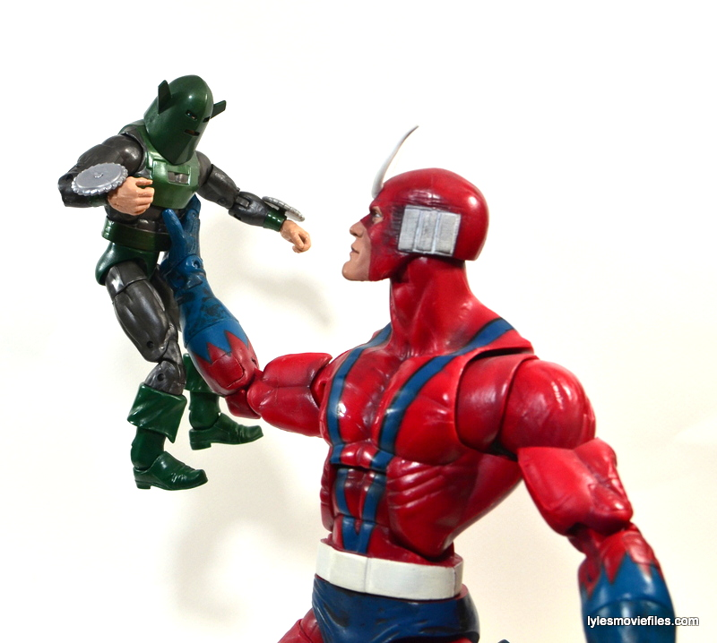 Marvel Legends Whirlwind figure review -vs Giant Man