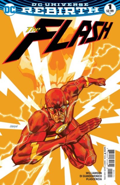 The Flash review issue 1 variant cover
