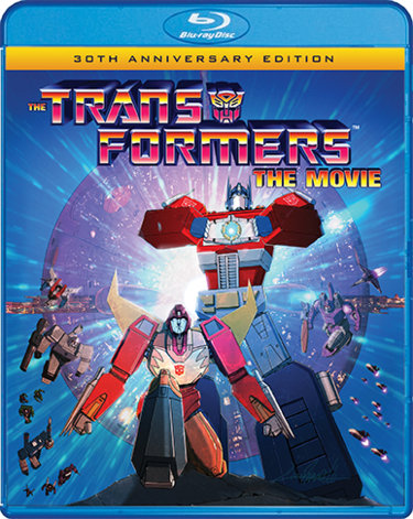 Transformers The Movie Blu Ray only