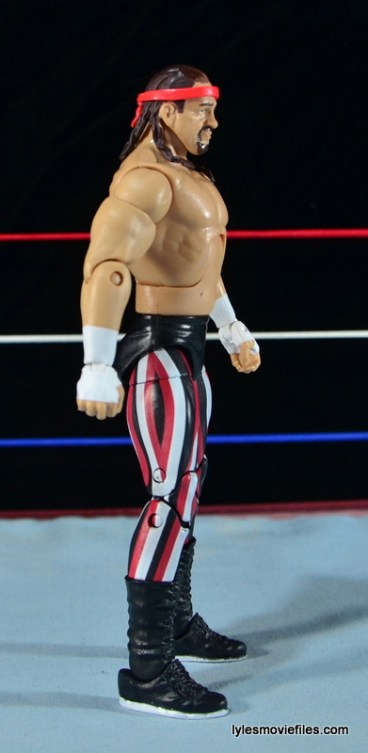 WWE Elite 41 Terry Funk figure review - right side