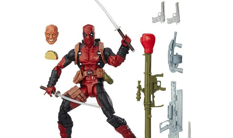 X-Men Marvel Legends BAF Juggernaut wave - Deadpool