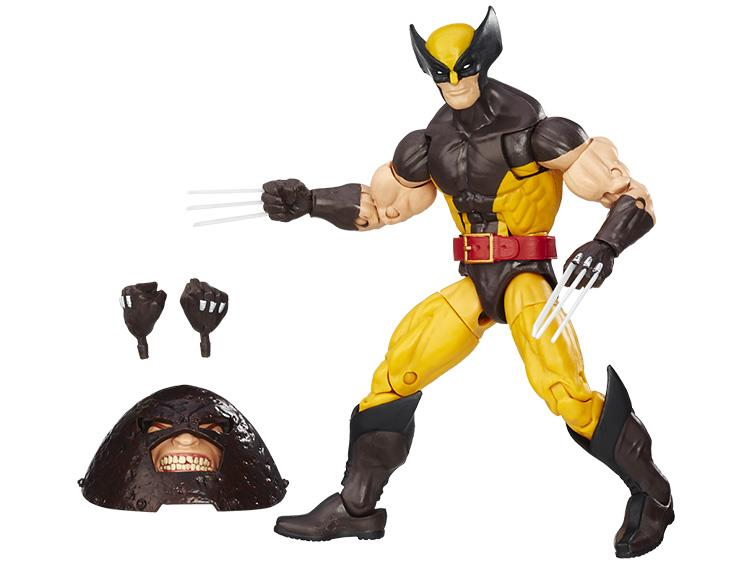 X-Men Marvel Legends BAF Juggernaut wave -Wolverine