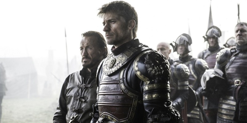 game of thrones the broken man-Bronn-and-Jaime-Lannister