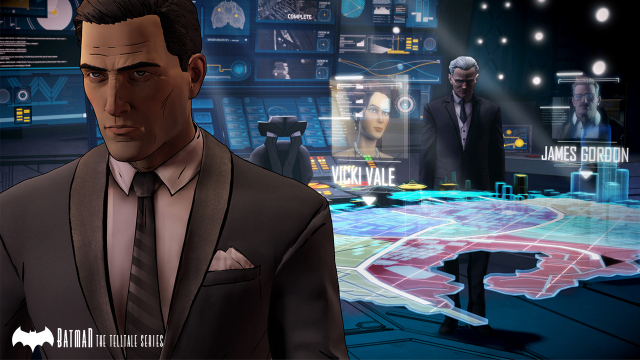 Batman The Telltale Series - Bruce and Alfred