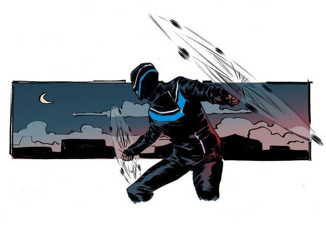 DC Comics Vigilante -meteor hammer-min