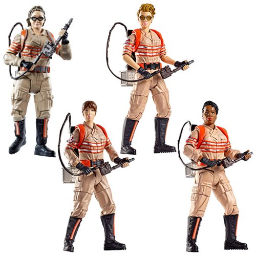 Ghostbusters figures