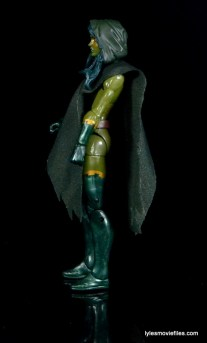 Guardians of the Galaxy Marvel Legends exclusive -Gamora with poncho left
