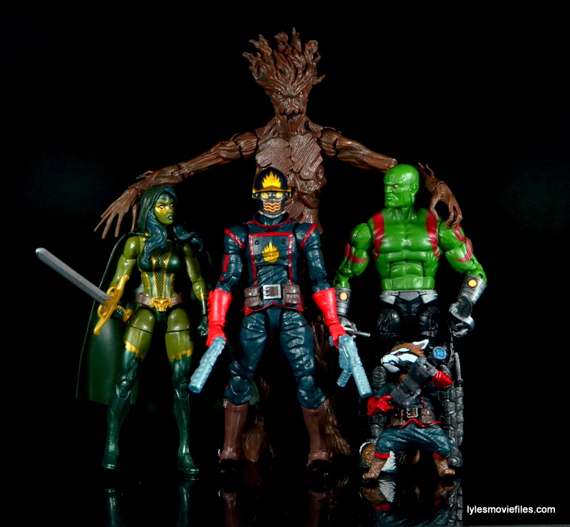 Guardians of the Galaxy Marvel Legends exclusive -Guardians together