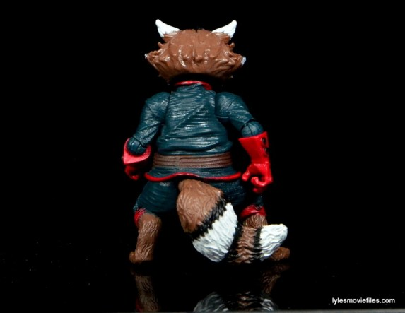 Guardians of the Galaxy Marvel Legends exclusive -Rocket rear