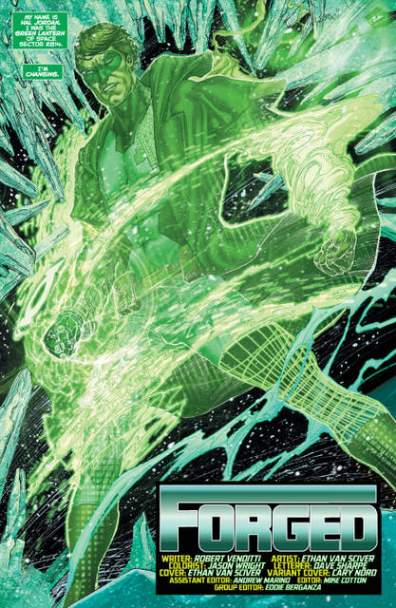 Hal Jordan and GLC Rebirth issue 1 review page_6