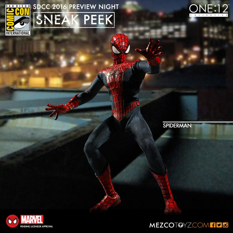 Mezco Toyz -SDCC-Preview-Night-One12 Spiderman