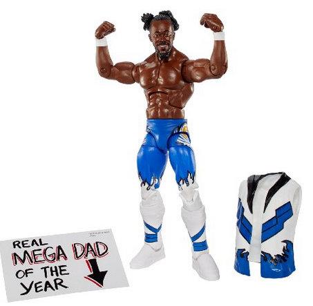 WWE Elite 43 Kofi Kingston Figure