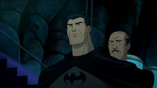 Batman The Killing Joke review - Batman and Alfred
