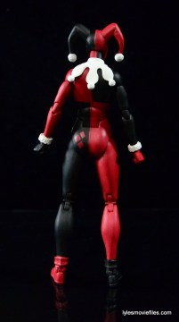 DC Icons Harley Quinn figure review -rear