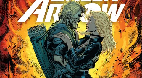 Green Arrow #5 review Inferno - variant cover