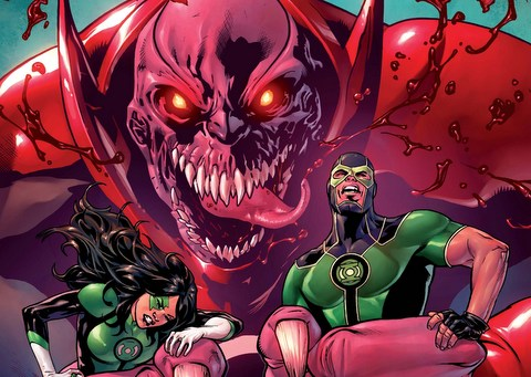 Green Lanterns #5 review variant cover