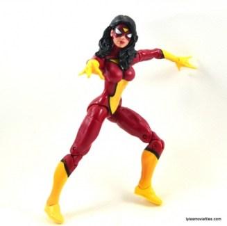 Marvel Legends Spider-Woman figure review - battle pose