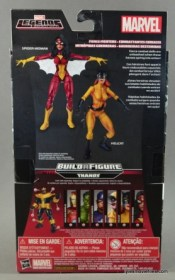 Marvel Legends Spider-Woman figure review - packaging rear