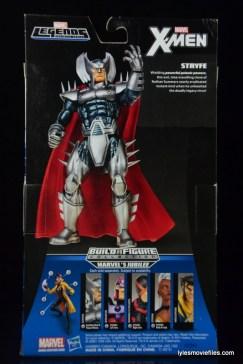 Marvel Legends Stryfe figure review -package back