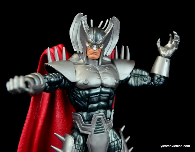 Marvel Legends Stryfe figure review -reaching out