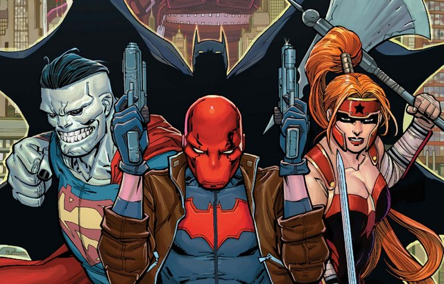 Red Hood and the Outlaws issue 1 review cover