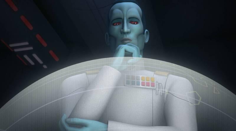 Star Wars Rebels Season 3 General Admiral Thrawn