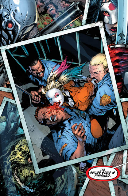 Suicide Squad Rebirth issue 1 - page 1