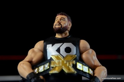WWE Elite 43 Kevin Owens figure review - lifting NXT title