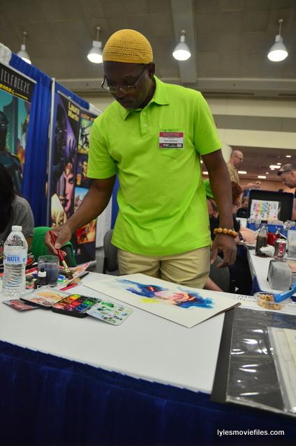Baltimore Comic Con 2016 - Brian Steelfreeze