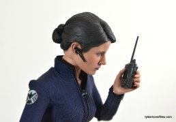 Hot Toys Maria Hill figure -talking on walkie talky