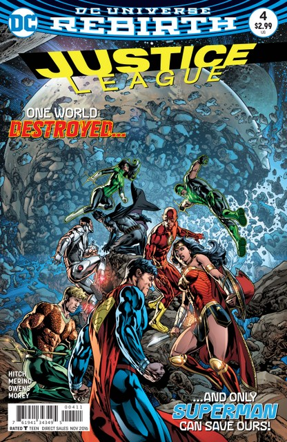 Justice League #4 cover