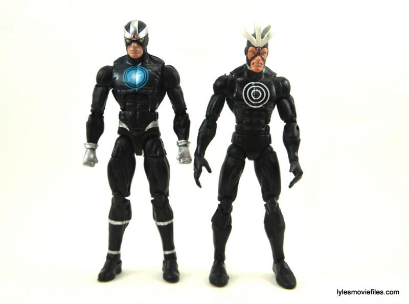 Marvel Legends Havok figure review -comparison with Toy Biz Havok
