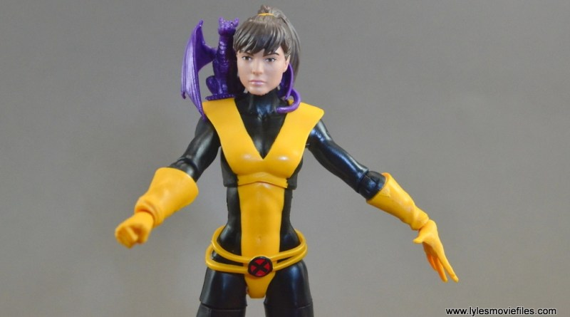 Marvel Legends Kitty Pryde figure review – X-Men Build a Figure Juggernaut wave
