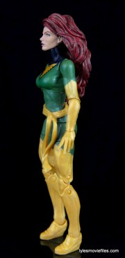 Marvel Legends Phoenix figure review -left side