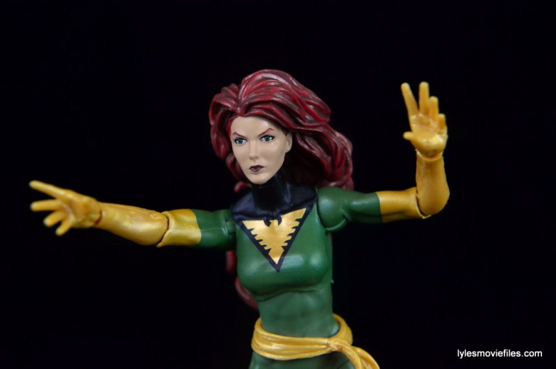 Marvel Legends Phoenix figure review - on the attack