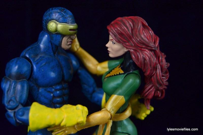 Marvel Legends Phoenix figure review - quiet time with Cyclops