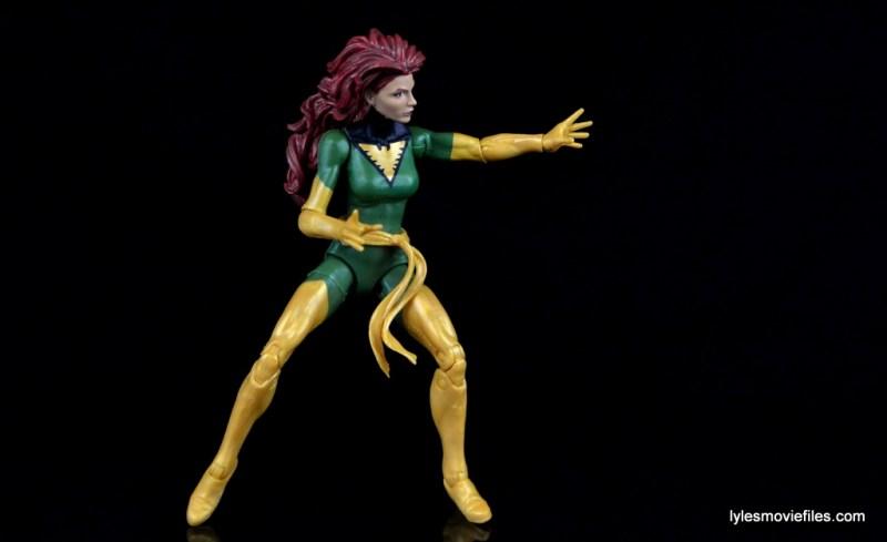 Marvel Legends Phoenix figure review - side pose