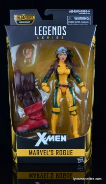 Marvel Legends Rogue figure review - front package