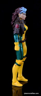 Marvel Legends Rogue figure review - right side